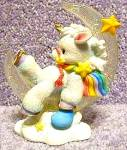 Click to view larger image of STARLIGHT STARBRIGHT Unicorn DISCOVER YOUR DREAMS Enesco Crescent Moon Hamilton 1994 (Image2)