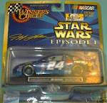 Click here to enlarge image and see more about item STARWARS1: JEFF GORDON STARS WARS 1/43 MONTE CARLO WINNERS CIRCLE 1999 NASCAR CHEVY HASBRO EPIS1