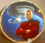 CAPTAIN PICARD STAR TREK� POWER OF COMMAND POC Artist K. BIRDSONG HAMILTON COLLECTION