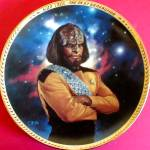 Click to view larger image of LIEUTENANT WORF STAR TREK®THE NEXT GENERATION 5TH FIFTH ANNIVERSARY TNG T. Blackshear (Image1)