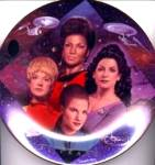 Click to view larger image of THE WOMEN OF STAR TREK® 30 Thirty YEARS ANNIVERSARY SERIES OF 7 T. Treadway HAMILTON (Image2)
