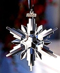Click here to enlarge image and see more about item SWARO104: Swarovski 2006 Annual Christmas Ornament Star # 837613 NIB Large Stella di Natale Wei