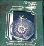 Click here to enlarge image and see more about item SWARO1: 1988 SCO88 Annual Swarovski Crystal Ornament Octagonal W/BOX