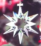 Click here to enlarge image and see more about item SWARO25: SWAROVSKI 1997 SCO-97 SCO97 STAR SNOWFLAKE ANNUAL ORNAMENT