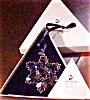 Click to view larger image of SWAROVSKI 1996 STAR SNOWFLAKE SCO96 ANNUAL ORNAMENT MIB w/Certificate (Image2)