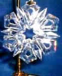 Click to view larger image of 1999 Annual Swarovski Star Snowflake Ornament SCO99 MIB COA (Image2)