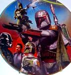 Click here to enlarge image and see more about item SWHV9: Star Wars Heroes& Villains - BOBA FETT - Artist Keith Birdsong