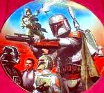 Click to view larger image of Star Wars Heroes& Villains - BOBA FETT - Artist Keith Birdsong (Image2)