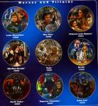 Click to view larger image of '97 PRINCESS LEIA:STAR WARS HEROES & VILLAINS (Image2)