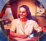 Click to view larger image of Service Representative V.Vuchinich Telephone Pioneers Customer 1947 Telecommunication (Image2)