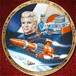 Click to view larger image of THUNDERBIRD 3 Alan Tracy MISSION TO OUTER SPACE GERRY ANDERSON S.Kyte Thunderbirds UK (Image1)
