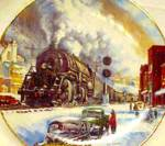 Click to view larger image of Coal Country - Winter Rails Series / T. Xaras (Image1)