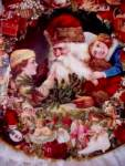 Click here to enlarge image and see more about item VCMP2: A VISIT FROM ST. NICHOLAS:VICTORIAN XMAS MEMO