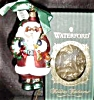 Click to view larger image of 1st EDITION WATERFORD HOLIDAY HEIRLOOMS LIMITED EDITION SANTA 103566 Germany Handmade (Image4)