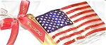 Click to view larger image of 2002 WATERFORD HOLIDAY HEIRLOOMS AMERICAN FLAG #123924 MIB POLAND Patriotic (Image1)