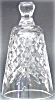 Click to view larger image of 1991 8 EIGHT MAIDS A MILKING BELL 12 Twelve DAYS OF CHRISTMAS WATERFORD CRYSTAL '91 (Image6)