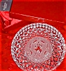 Click to view larger image of 10 Ten LORDS A LEAPING 12 Twelve DAYS OF CHRISTMAS Annual Crystal Plates 1993 (Image4)