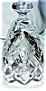 Click to view larger image of 1984 HOLLY LAMP LANTERN WATERFORD CHRISTMAS ANNUAL Xmas Crystal BELL Candlelamp '84 (Image2)