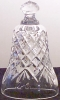 Click to view larger image of 1990 SEVEN 7 SWANS A SWIMMING Waterford Crystal BELL 12 Twelve Days Of Christmas nbox (Image2)
