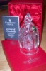 Click to view larger image of 1996 SILENT NIGHT SONGS OF CHRISTMAS #1 WATERFORD DATED CRYSTAL SONG BELL w/Box Scene (Image2)
