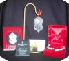 Click to view larger image of 2002 Songs of Christmas 7th Edition Deck the Halls Waterford Crystal Ornament MIB '02 (Image2)