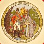 Click here to enlarge image and see more about item WEDGP11: THE TINDER BOX #2 CHILDREN'S STORY 1972 MIB Mint booklet WEDGEWOOD WEDGWOOD Plate UK