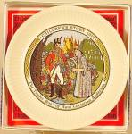 Click to view larger image of THE TINDER BOX #2 CHILDREN'S STORY 1972 MIB Mint booklet WEDGEWOOD WEDGWOOD Plate UK (Image2)