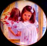 Click here to enlarge image and see more about item WILLIAMS11: Little Talks with God LORD,HELP ME TO BE GOOD Abbie Williams Girl Prayer Kid Roman Pl