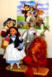 Click to view larger image of #96262 Scarecrow Wonderful WIZARD OF OZ Ashton-Drake Mary Tretter WOZ Ashton ybr (Image4)