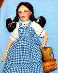 Click to view larger image of Judy Garland as Dorothy Wizard Of Oz Franklin Mint Porcelain Heirloom Doll 1989 (Image4)