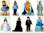 Click to view larger image of Judy Garland as Dorothy Wizard Of Oz Franklin Mint Porcelain Heirloom Doll 1989 (Image7)