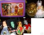 Click to view larger image of PRESENTS Wizard of Oz Holiday Ornament Cowardly LION Vinyl Cloth1989 WOZ 50th Anniver (Image8)