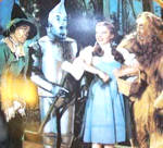 Click to view larger image of We're Off to See the Wizard #1 WOZ 50th Ann. Blackshear Dorothy Lion Tinman Scarecrow (Image1)