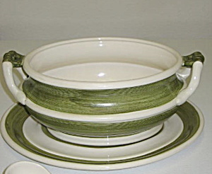 Arnart 5th Ave Garden Harvest Soup Tureen & Underplate (Image1)
