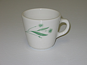 Homer Laughlin Green Field Restaurant Best China Mug (Image1)