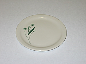Homer Laughlin Green Field Best China Bread Plate