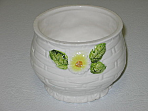 Lefton Rustic Daisy Jam Jelly Jar NO LID (Image1)