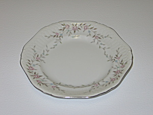 Mikasa Fine China Blossoms Pink 8340 Bread Plate