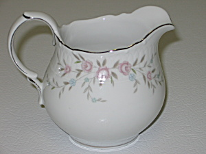 Mikasa Fine China Blossoms Pink 8340 Creamer Pitcher (Image1)