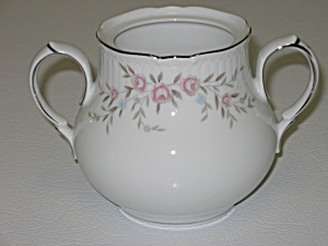 Mikasa Fine China Blossoms Pink 8340 Sugar Bowl No Lid