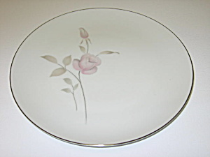 Mikasa China Narumi Japan Dawn Rose 5414 Bread Plate