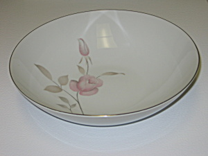 Mikasa China Narumi Japan Dawn Rose Serving Bowl