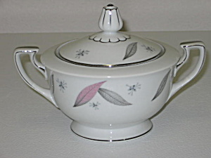 Narumi Japan China Serenade Sugar Bowl With Lid