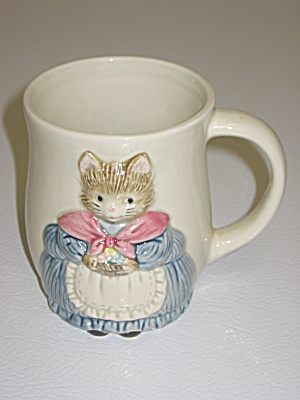 Otagiri Whiskers Momma Cat Coffee Cup Mug