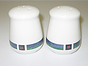 Pfaltzgraff Atalya By Pat Farrell Salt & Pepper Shakers