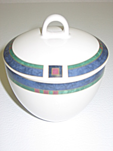 Pfaltzgraff Atalya By Pat Farrell Sugar Bowl With Lid
