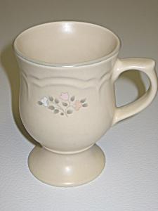 Pfaltzgraff Remembrance Footed Mug