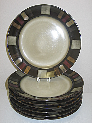 Pfaltzgraff Everyday Tahoe Salad Plates Set Of 7