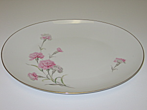 Royal Court Carnation Large Oval Serving Platter (Image1)