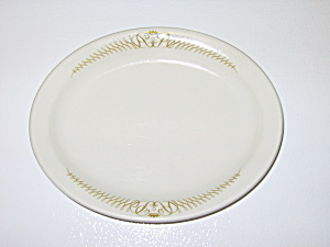 Shenango Interpace Restaurant Ware Plate Gold Crown